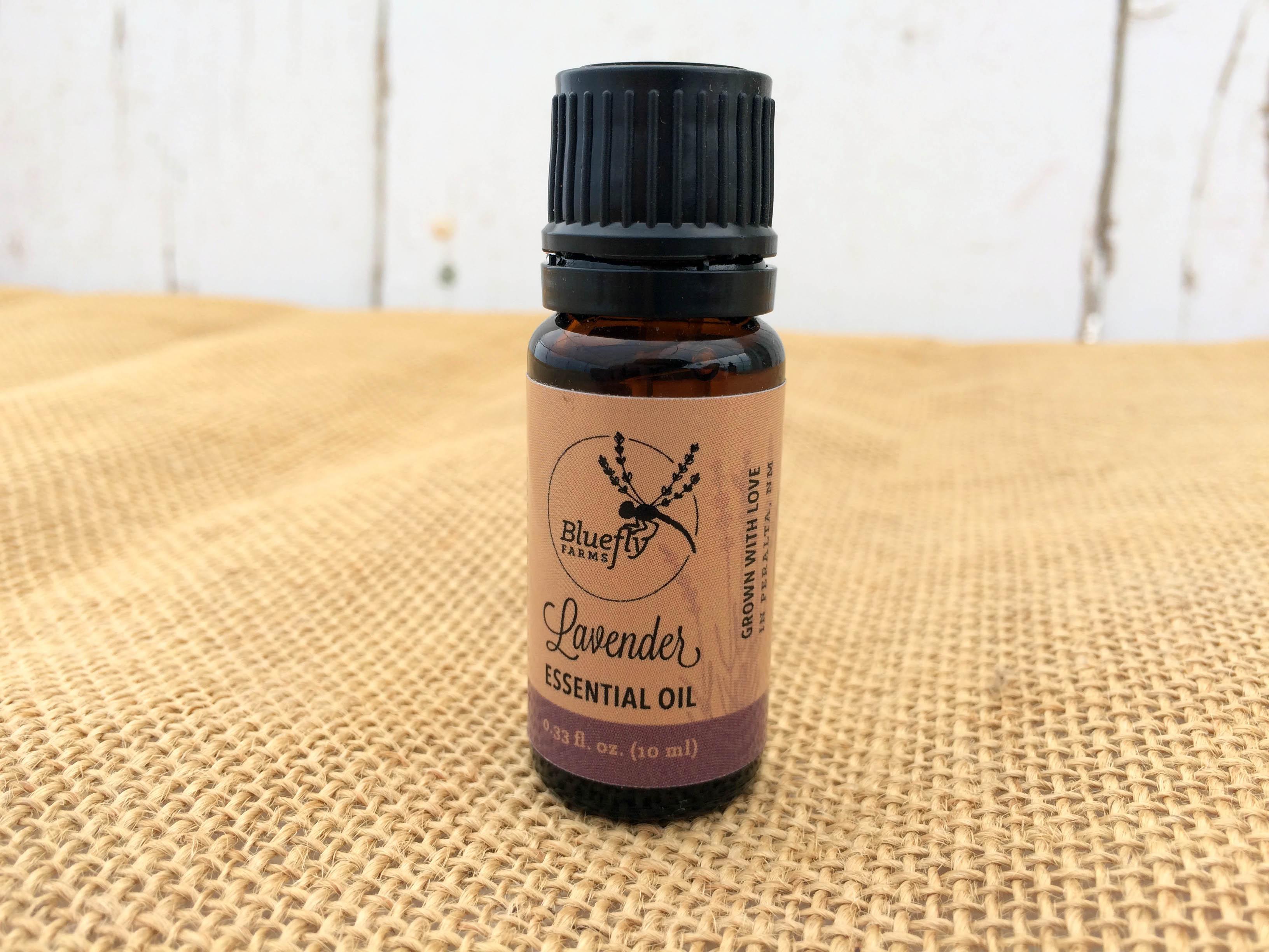Lavender Essential Oil 10ml Steam Distilled from Organic Lavender